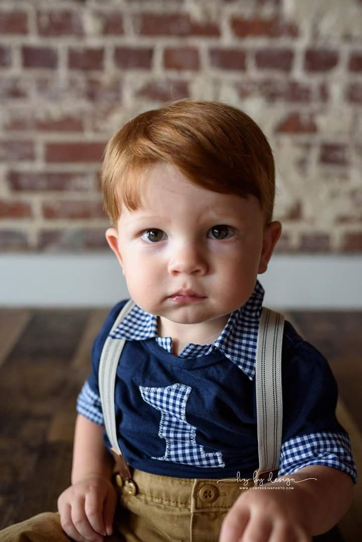 Birthday boy, bow ties are cool, red headed baby, turning ...