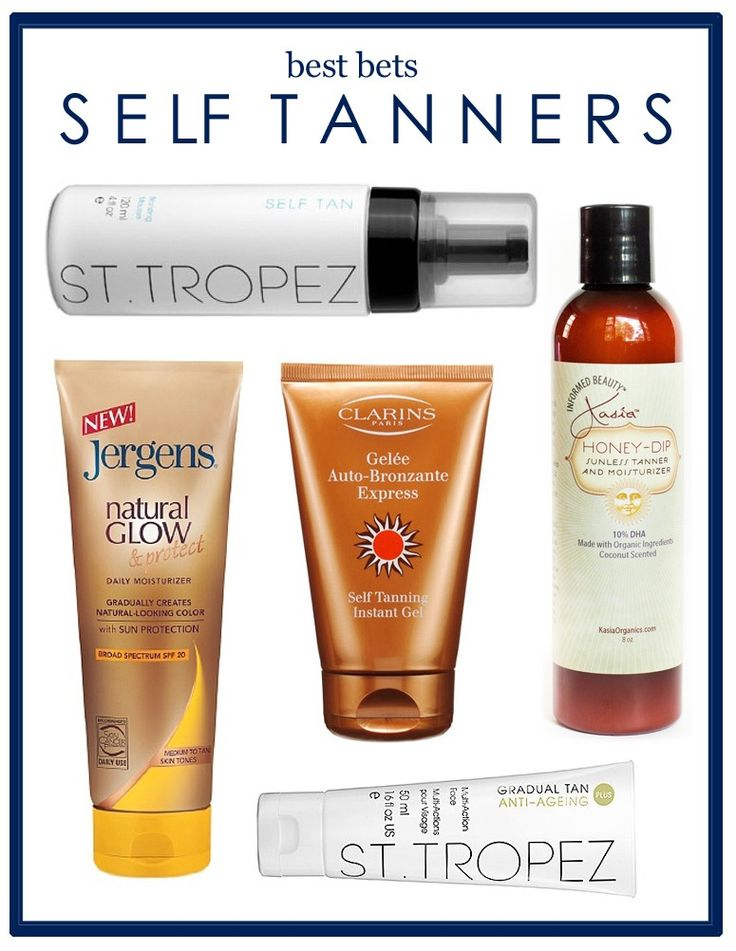 College Fashion Guide to Self Tanners