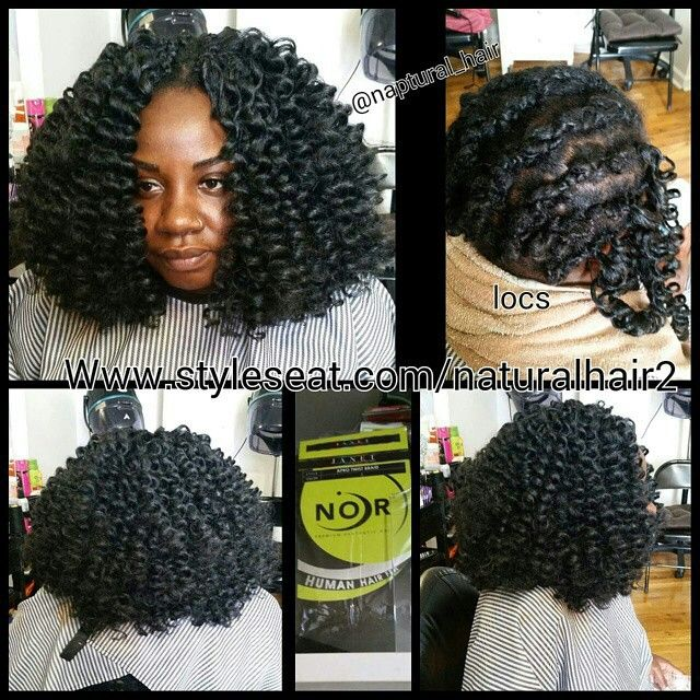 Crochet Hair Over Locs : Crochet braids over locs