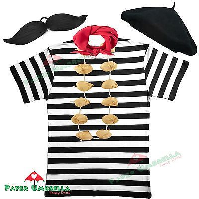 Mens french man fancy #dress costume #france 5 pc set waiter stag party #outfit ,  View more on the LINK: 	http://www.zeppy.io/product/gb/2/272117468690/