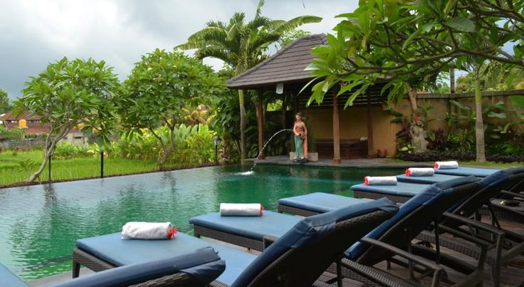 NZD131 Surrounded by large expanses of paddy fields, peaceful retreats await in the quiet environs of Bliss Ubud Spa & Bungalow.