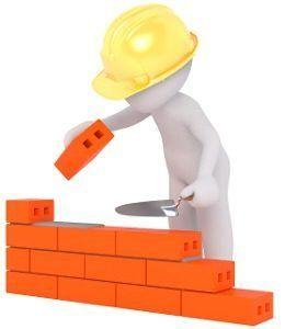Construir camara bufa con ladrillos