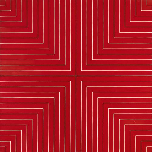 Frank Stella, 1961, Delaware Crossing. The Collection of A. Alfred Taubman: Masterworks   Sotheby's