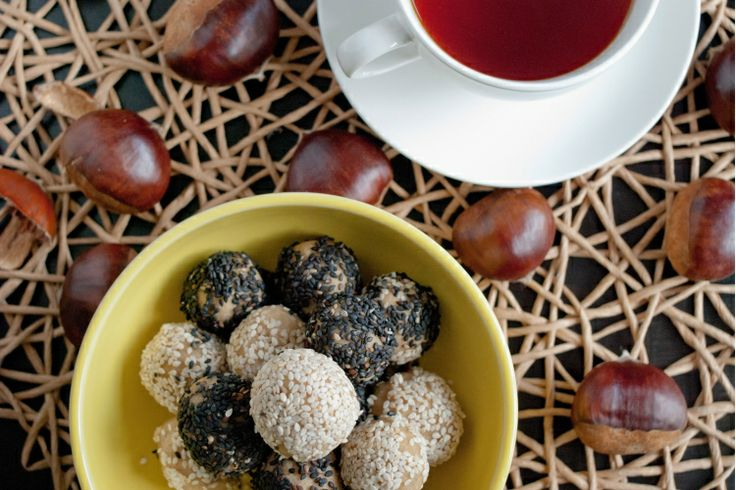 Chestnut, Pear and Orange Powerballs