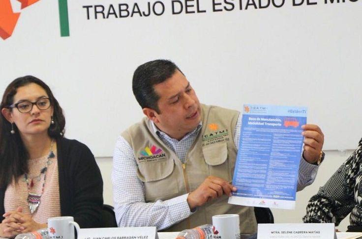 El director general, Juan Carlos Barragán, anunció el programaBeca de manutención, modalidad transporte, que consiste en un apoyo de 400 pesos mensuales – Morelia, Michoacán, 14 de julio de 2016.- ...