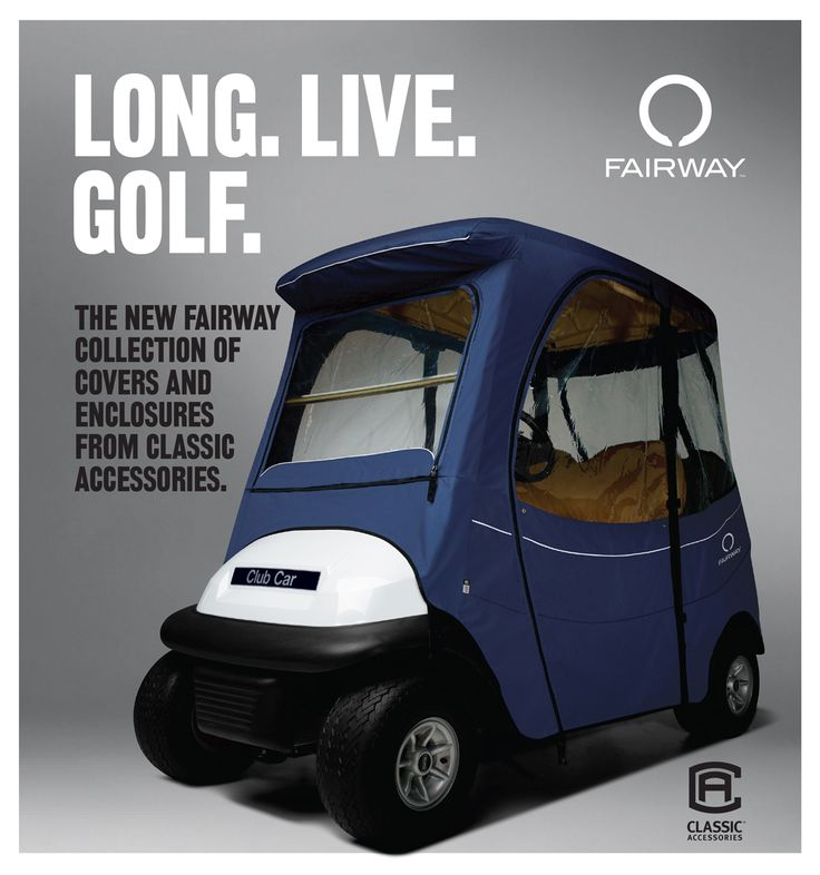 NEW Fairway golf cart covers, golf cart enclosures, custom fit, universal, golf cart seat blankets, golf cart seat covers
