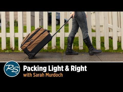 Packing Light & Right with Sarah Murdoch - YouTube