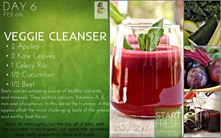 """Day 6 """"Veggie Cleanser"""""""