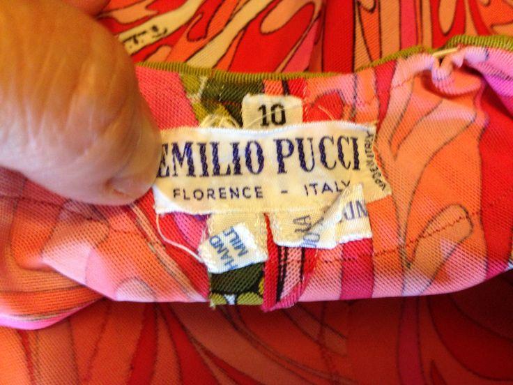 E. Pucci label