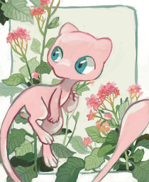 Mew is so adorable!