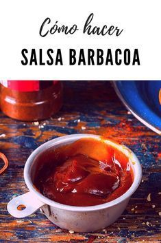 Receta Salsa Bbq, Salsa Barbacoa Casera, Tapas, Sauce Recipes, Cooking Recipes, Houston Food, Colombian Food, Tasty Videos, Vegan Foods