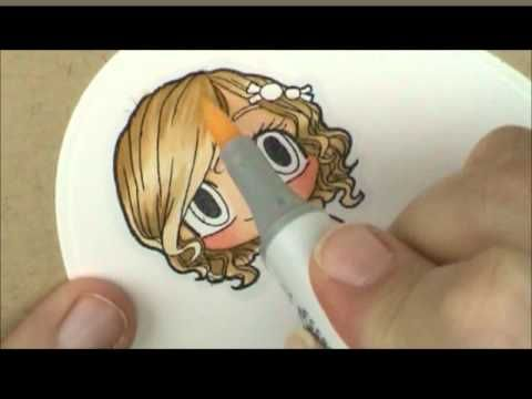 Whimsy Stamps Noah's Ark with Touch Twin Markers - YouTube