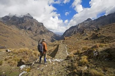 The Inca road system (called Capaq Ñan in Quechua and Gran Ruta Inca in Spanish) was an essential part of the success of the Inca Empire. The road system included an astounding 40,000 kilometers (25,000 miles) of roads, bridges, tunnels and causeways...