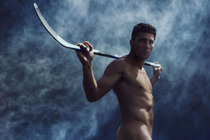 Canadian hockey player Joffrey Lupul bares all in the 2013 issue of ESPN The Magazine.