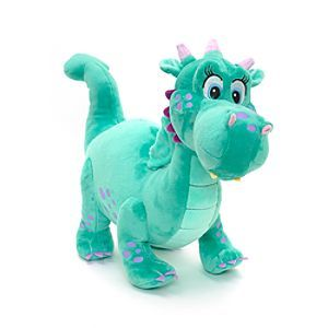 Disney Sofia The First - Crackle Medium Soft Toy | Disney StoreFree Shipping - That fire-breathing dragon from Sofia the First can arrive in your palace as this cuddly Crackle soft toy. Made from soft plush, her cute details include purple spots, 3D wings and horns and felt fabric teeth!