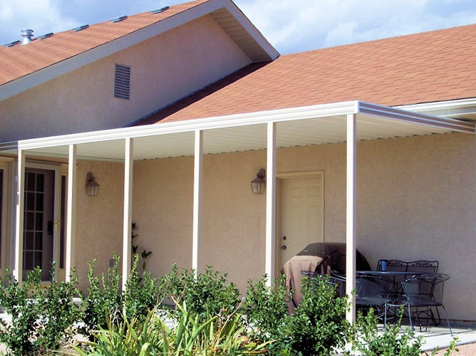 25 best ideas about aluminum carport on pinterest for Metal garage with porch