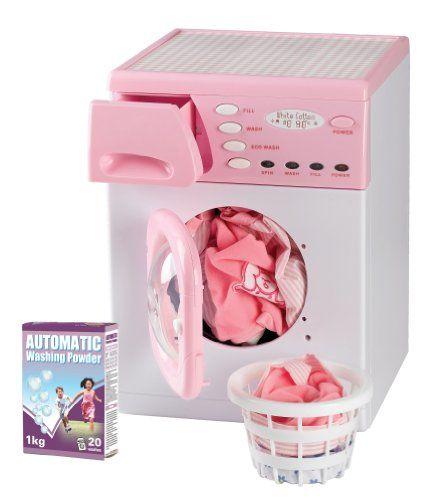 Casdon enfants rondelle jeux électroniques machine à laver jouet: Poids de l article : 1,9 Kg Dimensions du produit (L x l x h) : 30 x 26 x…