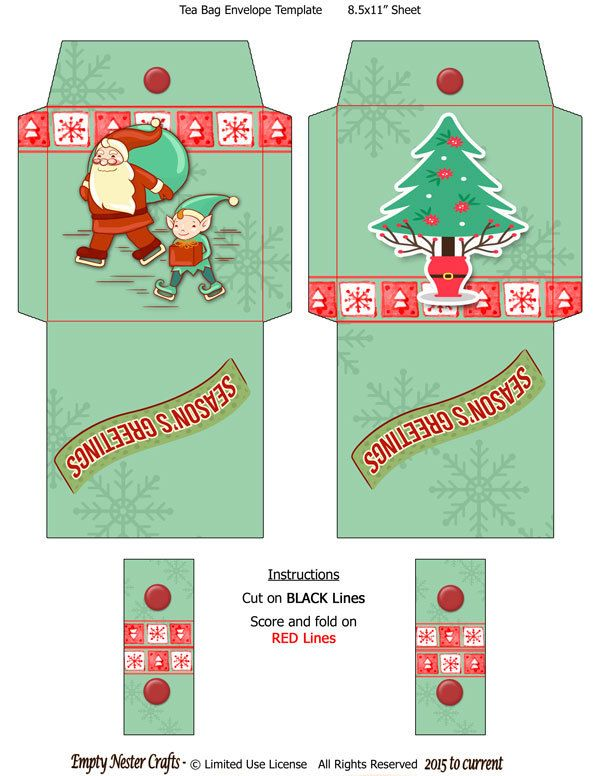 printable christmas envelopes 1000 images about tea bag printables on bags 2759