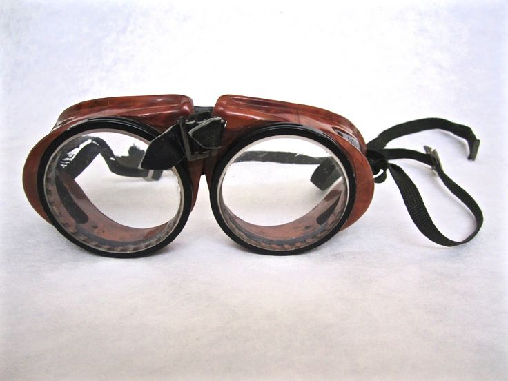 Vintage American Optical Goggles. ($12) Available at www.uncannyartist....