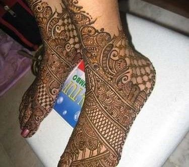Best Arabic Mehndi Designs 2014-2015 For Hands And Feet