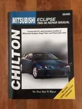 Chilton Repair Manual Mitsubishi Eclipse 1990-1998 Eagle Talon Plymouth Laser