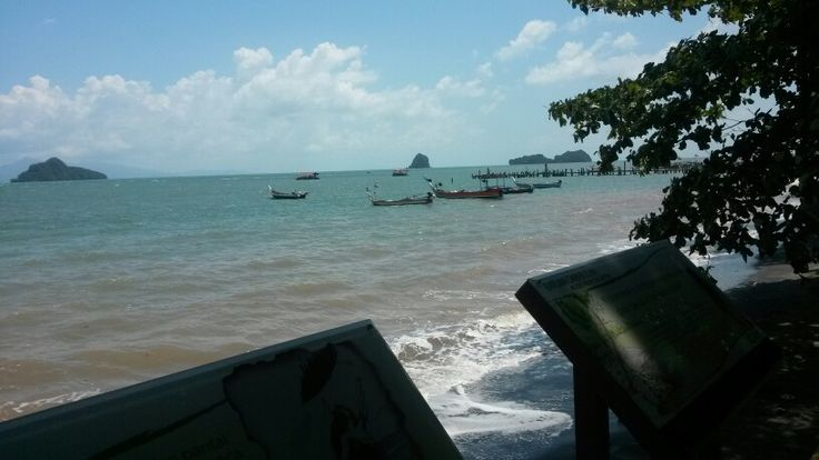 Pasir Hitam Beach, Langkawi Malaysia