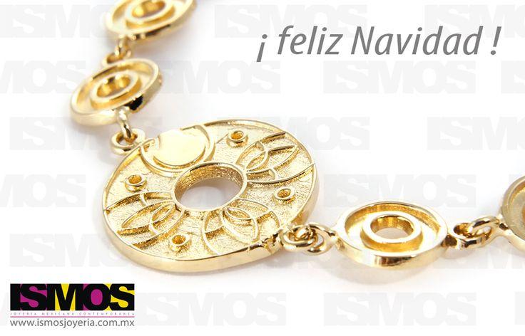 ISMOS Joyería: pulsera dorada // ISMOS Jewelry: golden bracelet
