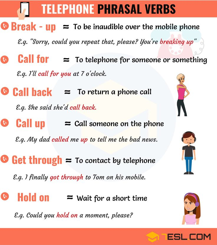 0shares Common Telephone Phrasal Verbs in English with their meaning and examples. You can jump to any section of this …