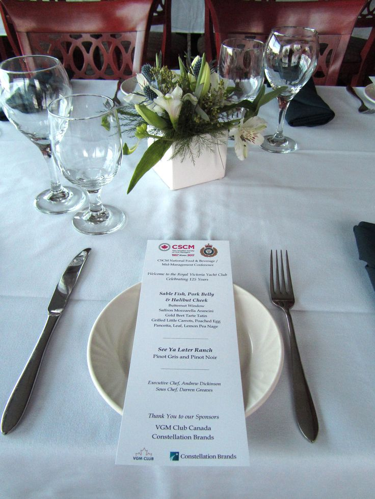 CSCM National Food & Beverage / Mid-Management Conference #CSCM #conference #menu