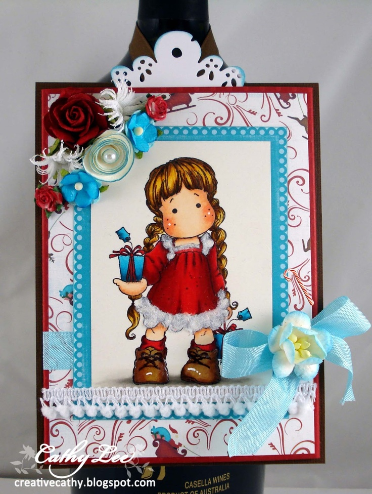 Interactive Tag Blog Hop using Tilda with Tag Gifts from Magnolia-licious by Cathy Lee of Cathy's Creative Place, http://www.magnoliastamps.us/store2/ #crafts #cards