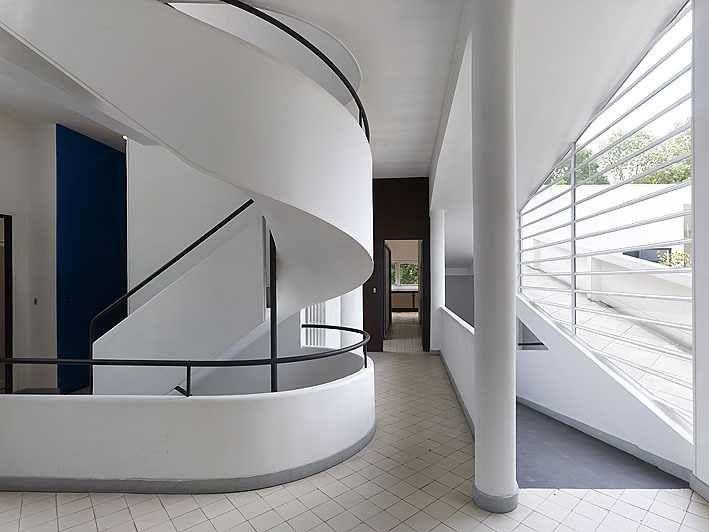 les 261 meilleures images du tableau residencia villa saboye fotos arq le corbusier sur. Black Bedroom Furniture Sets. Home Design Ideas