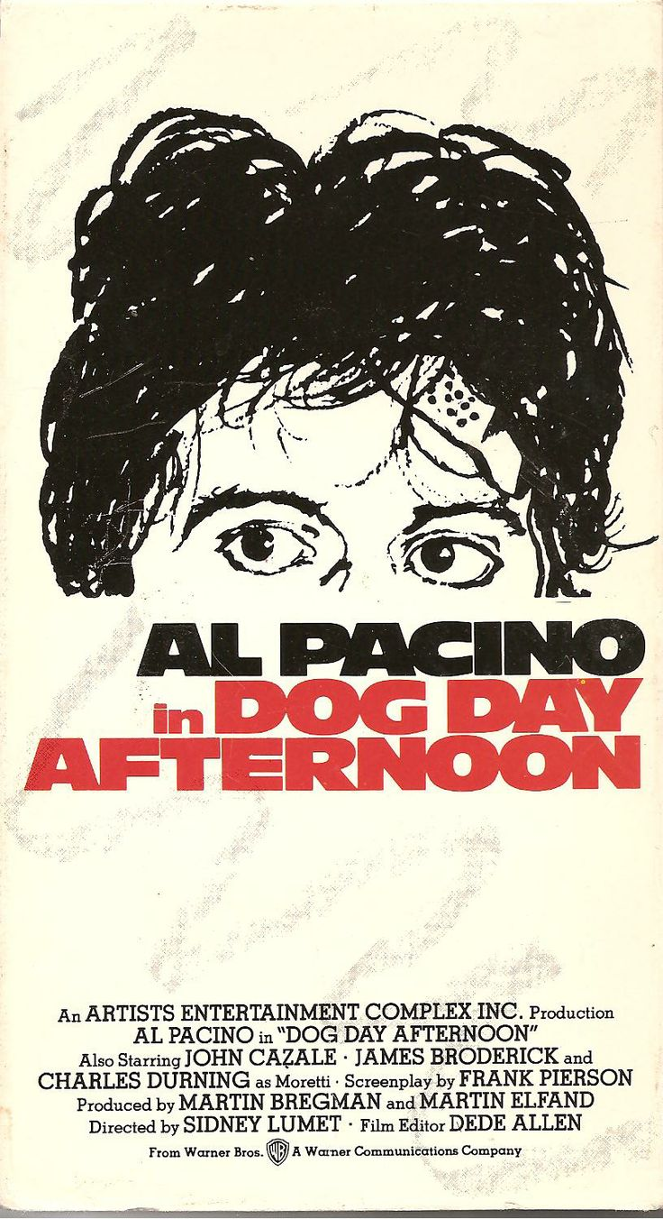 DOG DAY AFTERNOON // Crime comedy-drama by Sidney Lumet, 1975.