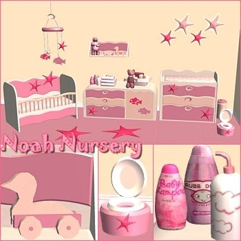 SIMS 3 NURSERY FURNITURE | Bedding & Furniture
