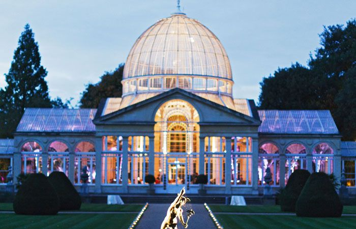 Wedding Photographer - The Great Conservatory at Syon Park, London