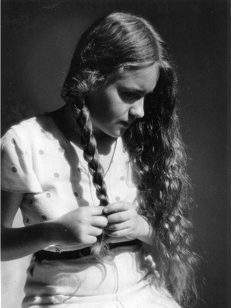 Lala Aufsberg (1907 - 1976) Mädchen mit goldenem Haar, 1935