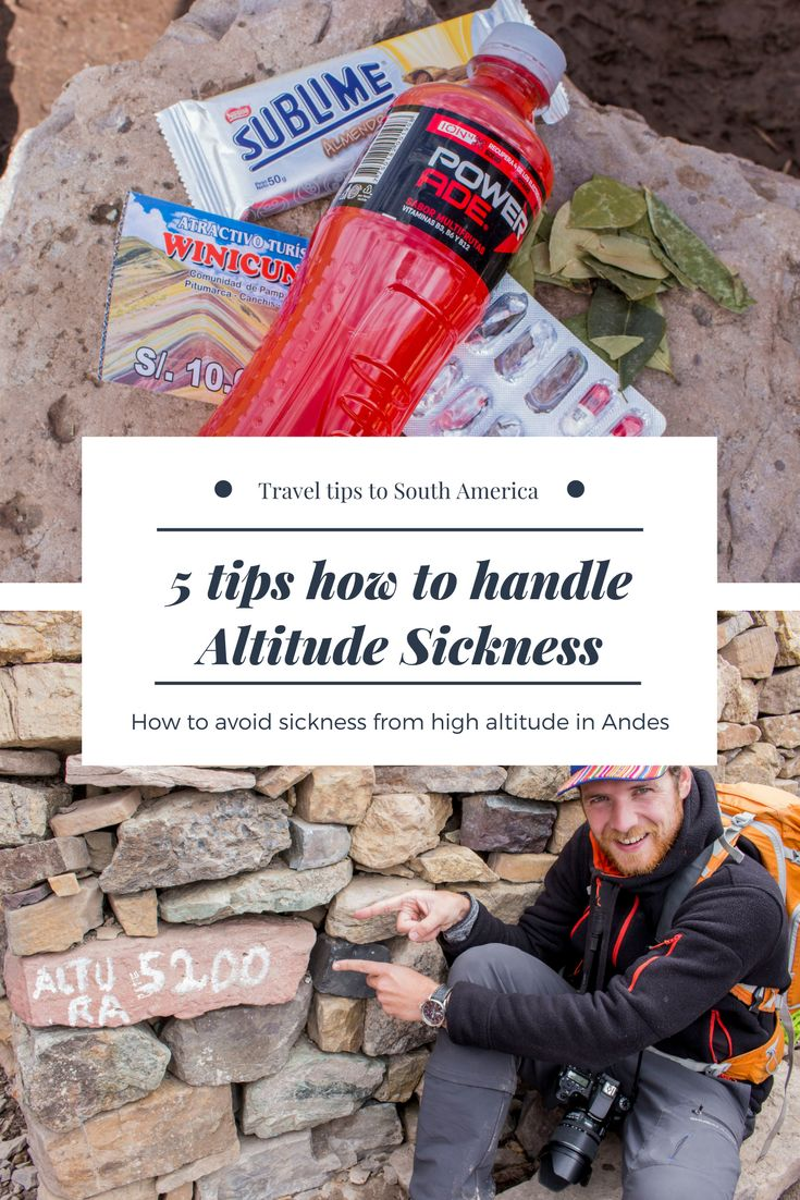 High altitude can affect every one of us and its called altitude sickness. You need to understand your body and how to deal with less amount of oxygen.