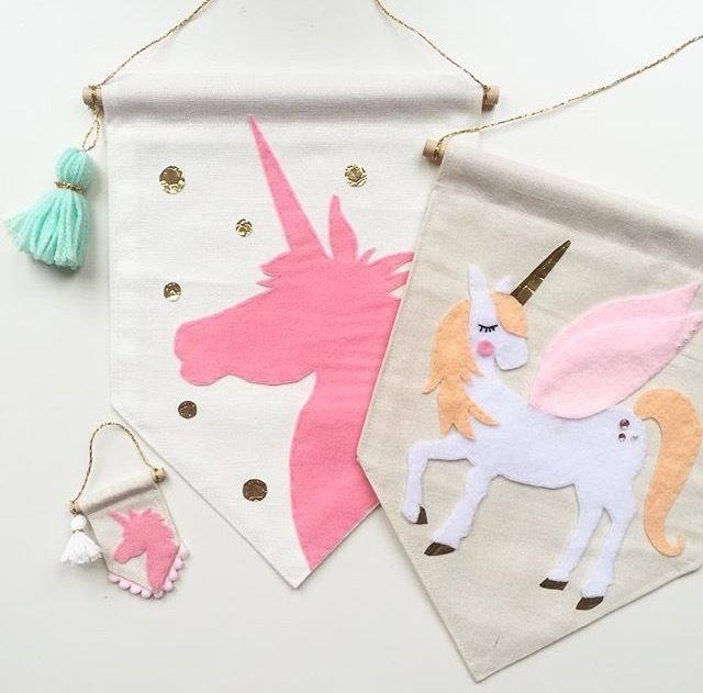 Unicorn (and pegasus) perfection by @littleoliveandco
