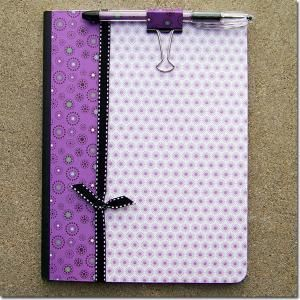 Purple Starburst Notebook set from A Scrap of Time