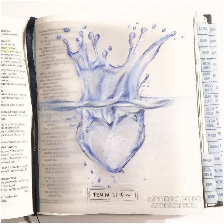 Psalm 51:10 Create in me a clean heart O God and renew a right spirit within me…