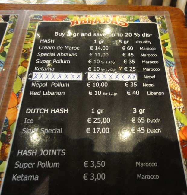 Order a paper joint in amsterdam