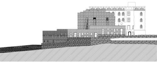 Max Dudler - Erweiterung Hambacher Schloss, 2012