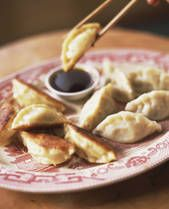 I usually use soy sauce & brown sugar for the Potsticker dipping sauce but I'm thinking this recipe might be better...
