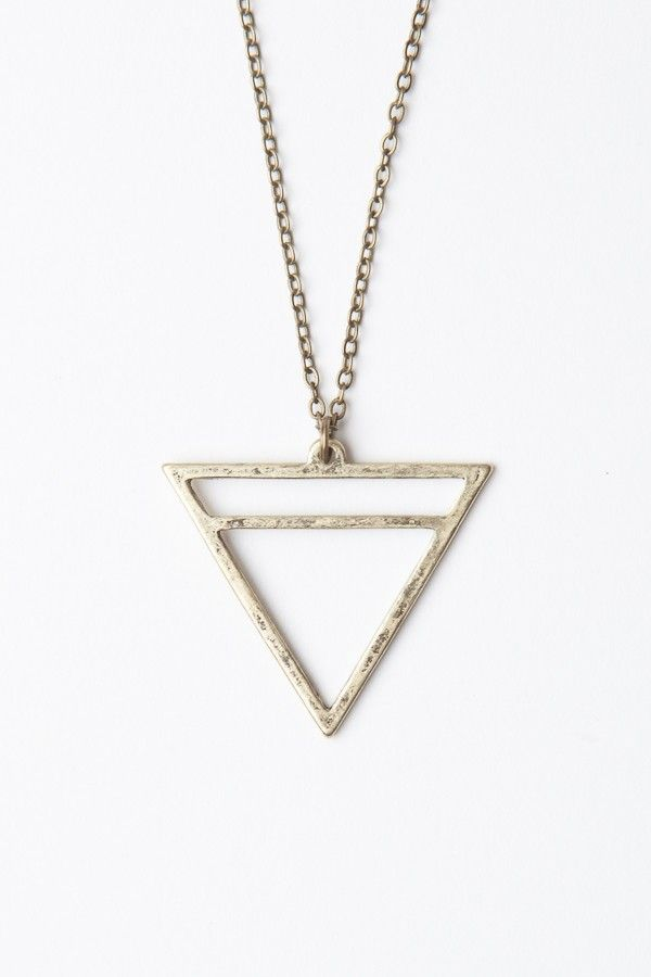 Brandy Melville Triangle Necklace Necklaces