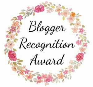 I was recently nominated for the Blogger Recognition Award by Jamie! Rules: Thank the blogger who nominated you and provide a link to their blog. Write a post to show your award. Give a brief story…