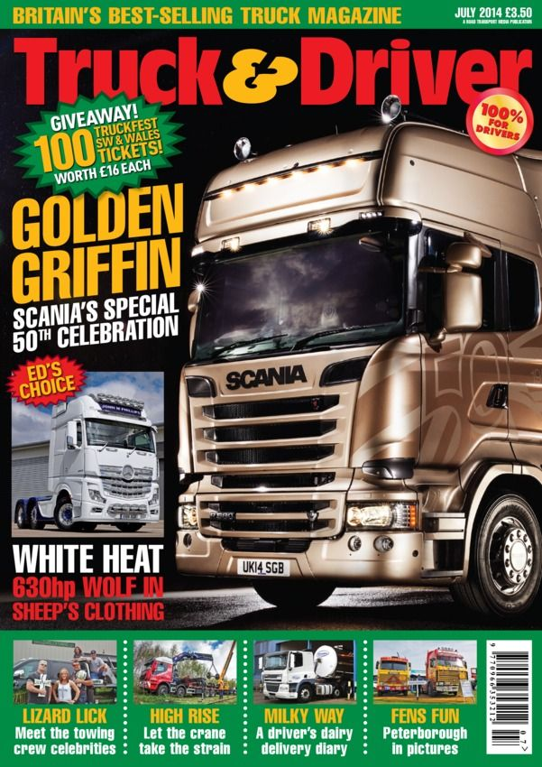 Truck & Driver  Magazine - Buy, Subscribe, Download and Read Truck & Driver on your iPad, iPhone, iPod Touch, Android and on the web only through Magzter