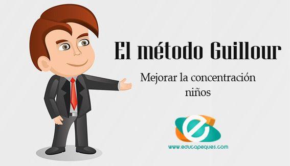 Los ejercicios del método Guillour sirven para elevar la concentración, promover el funcionamiento y la conexión entre ambos hemisferios.