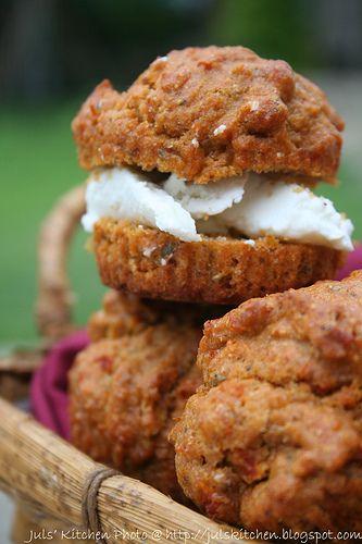 Muffin integrali al patè di pomodori secchi - Juls' Kitchen | Juls' Kitchen