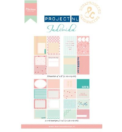 Marianne Design Project NL Card set - Individu