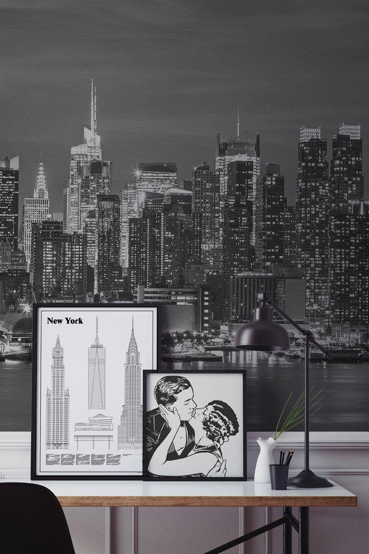 New York Wallpaper For Bedrooms 17 Best Images About New York Wallpaper Murals On Pinterest
