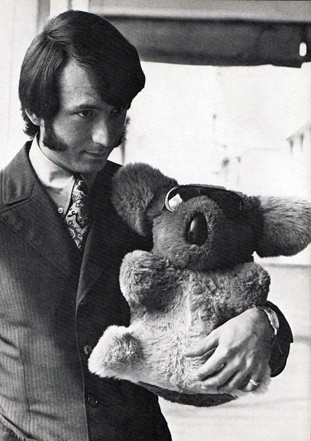 Michael Nesmith from 'The Monkees.' And a koala in sunglasses.
